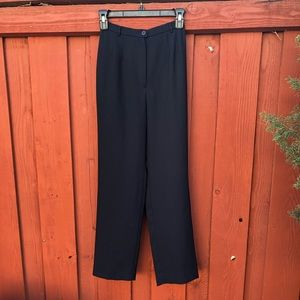 Women's vintage black trousers size Small